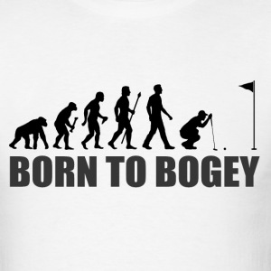 Born To Bogey Funny Golf T Shirt - Men's T-Shirt
