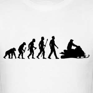Snowmobile Evolution - Men's T-Shirt