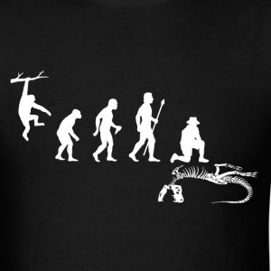 Evolution Paleontologist - Men's T-Shirt