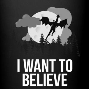 I Want To Believe... In Dragons! - Full Color Mug