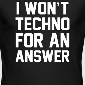 Techno - Men's Long Sleeve T-Shirt by Next Level