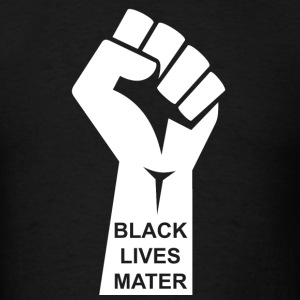 Black Lives Matter T-shirt - Civil Rights Raised - Men's T-Shirt