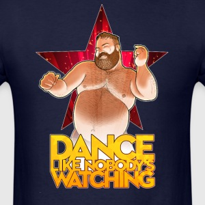 Dance like nobody's watching you - Men's T-Shirt