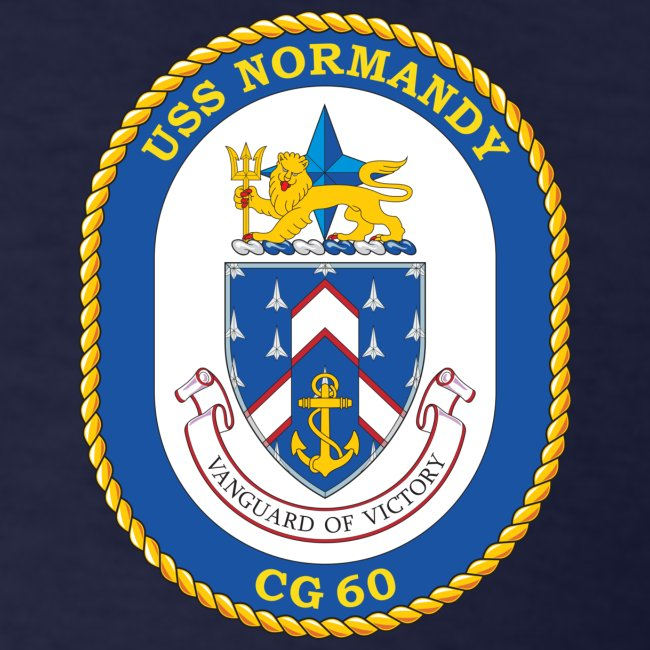 USS NORMANDY AROUND THE WORLD CRUISE 2015 T-SHIRT - FAMILY EDITION