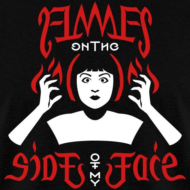 Flames Face men's T-shirt
