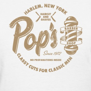 Pop's Barber (aged look) - Women's T-Shirt