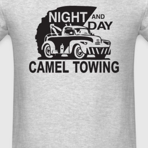 NIGHT & DAY CAMEL TOWING - Men's T-Shirt