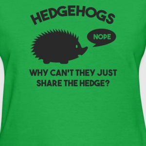HEDGEHOGS Funny T Shirt - Women's T-Shirt