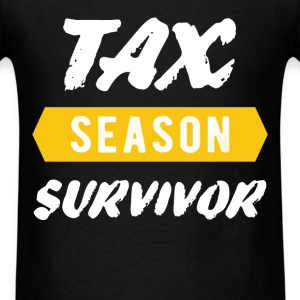 Tax Season Survivor  - Men's T-Shirt