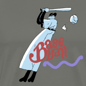 baseball boy - Men's Premium T-Shirt
