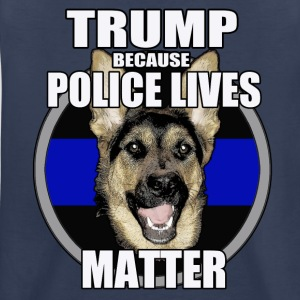 Trump because police matter - Kids' Premium T-Shirt