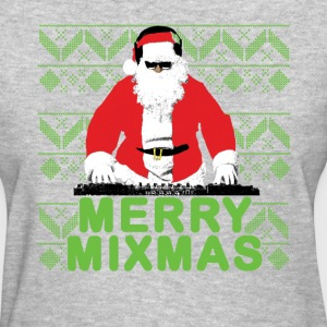 Merry Mixmas to the DJ Santa Father Christmas - Women's T-Shirt