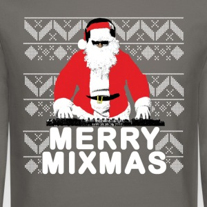 Merry Mixmas to the DJ Santa Father Christmas - Crewneck Sweatshirt