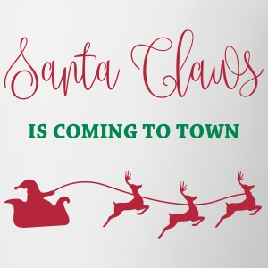 Santa Claus is coming to town Mugs & Drinkware - Coffee/Tea Mug