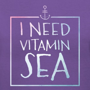 I Need Vitamin Sea T-Shirts - Women's V-Neck T-Shirt