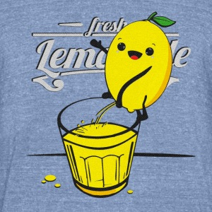 Lemon pees lemonade T-Shirts - Unisex Tri-Blend T-Shirt by American Apparel
