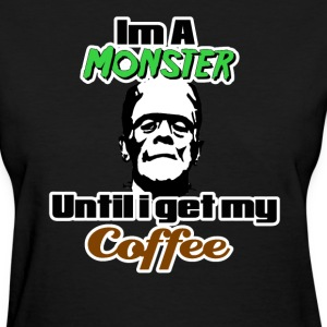 Coffee Monster T-Shirts - Women's T-Shirt