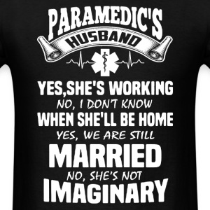 Paramedic Husband Shirt - Men's T-Shirt