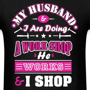 Mechanic Wife Shirt - Men's T-Shirt