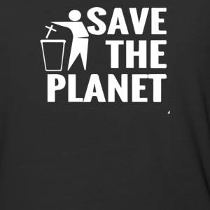 Save The Planet Atheist - Baseball T-Shirt