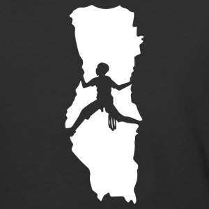 Rock Climbing - Baseball T-Shirt