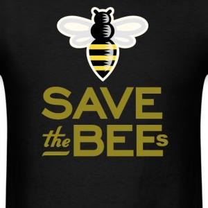 Save The Bees Beekeeper Quote Design - Men's T-Shirt