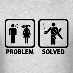 RC Airplanes Problem Solved - Men's T-Shirt