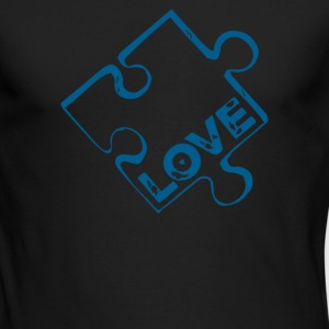 Puzzle Piece - Men's Long Sleeve T-Shirt by Next Level