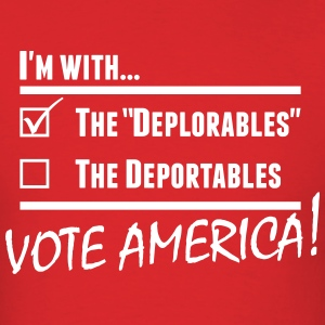 Deplorables America T-Shirts - Men's T-Shirt
