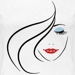 Beautiful Girl  T-Shirts - Women's Premium T-Shirt