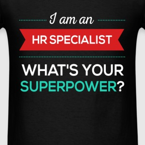 I am an HR Specialist what's your superpower? - Men's T-Shirt