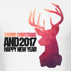 CHRISTMAS_DEER - Men's T-Shirt