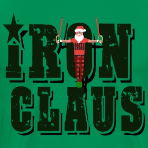Iron Claus / Santa Cross T-Shirts - Men's Premium T-Shirt
