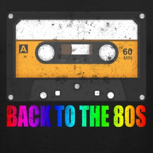 CASSETTE BACK TO THE 80'S NEVER FORGET Sportswear - Men's Premium Tank