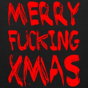 MERRY FUCKING XMAS Sportswear - Men's Premium Tank