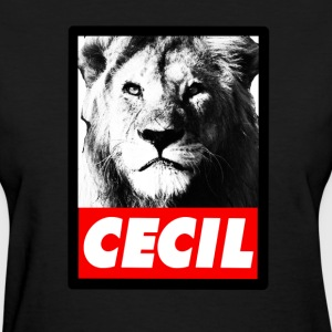 Cecil The Lion. T-Shirts - Women's T-Shirt