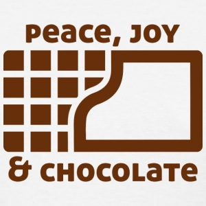 Peace, joy & chocolate T-Shirts - Women's T-Shirt