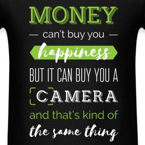 Money can't buy you happiness but it can buy you a - Men's T-Shirt