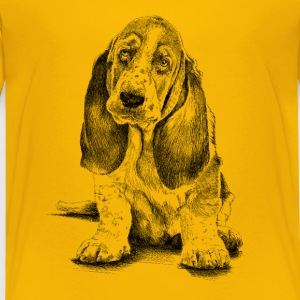 Basset-Hound Baby & Toddler Shirts - Toddler Premium T-Shirt