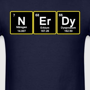 Nerdy. T-Shirts - Men's T-Shirt