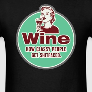 Wine. T-Shirts - Men's T-Shirt