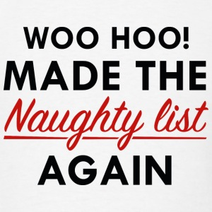 Naughty List - Men's T-Shirt