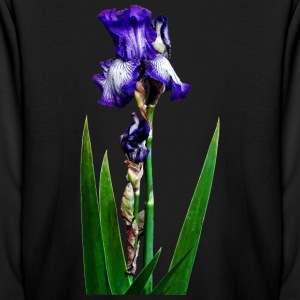 Lovely Purple Iris Kids' Shirts - Kids' Long Sleeve T-Shirt