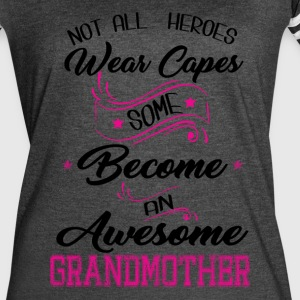 Not All Heroes Wear Cape T-Shirts - Women's Vintage Sport T-Shirt