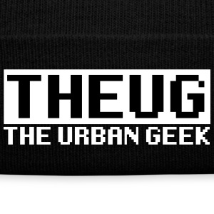 THE URBAN GEEK Sportswear - Knit Cap with Cuff Print