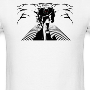 Wind-up Robot Destruction - Men's T-Shirt