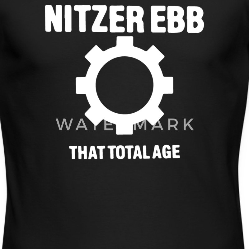 Nitzer Ebb - That Total Age - Men's Long Sleeve T-Shirt by Next Level