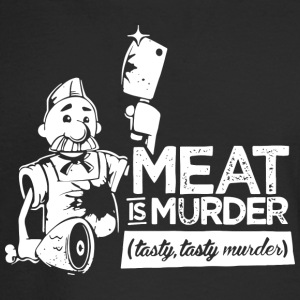 Meat is Murder Tasty Tasty Murder - Men's Long Sleeve T-Shirt