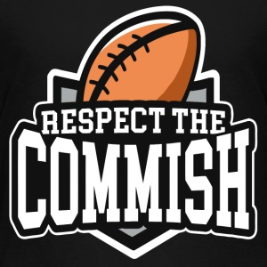 Respect The Commish - Kids' Premium T-Shirt