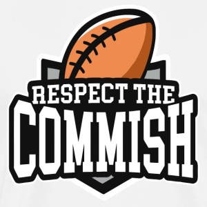 Respect The Commish - Men's Premium T-Shirt
